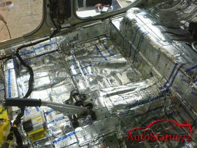 Теплоизоляция автомобиля своими руками материалы 92