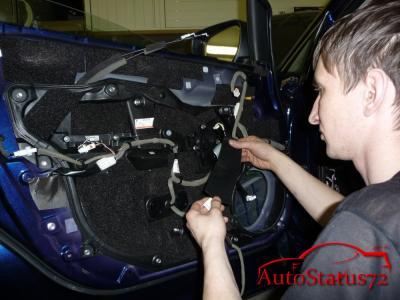Полная шумоизоляция автомобиля Mazda CX-7