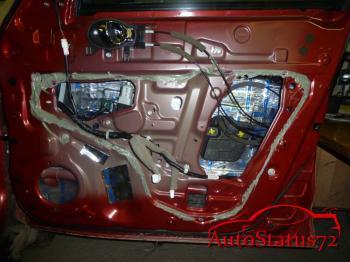 Полная шумоизоляция Nissan Juke