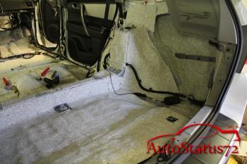 Шумоизоляция Toyota Highlander (Тойота Хайлендер 2012)